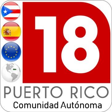 Puerto Rico: Comunidad Autónoma 18